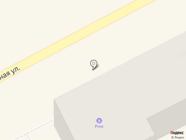 Анапа-Интур на карте Анапы