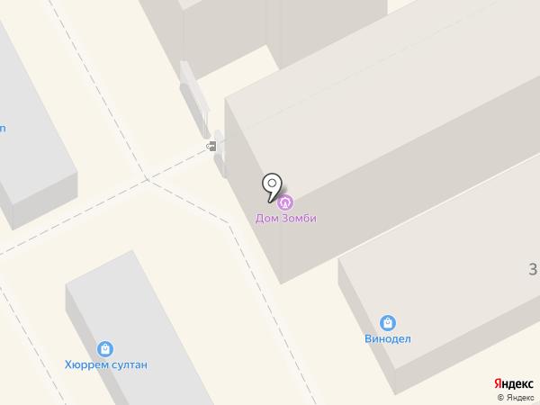 Автозапчасти и авторемонт на карте Анапы