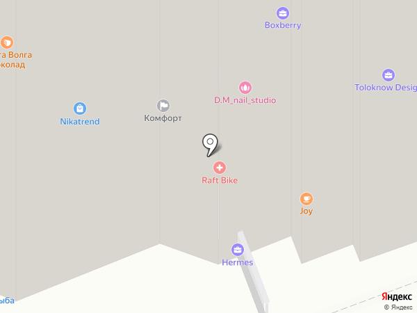 UP-квартал Сколковский на карте Одинцово