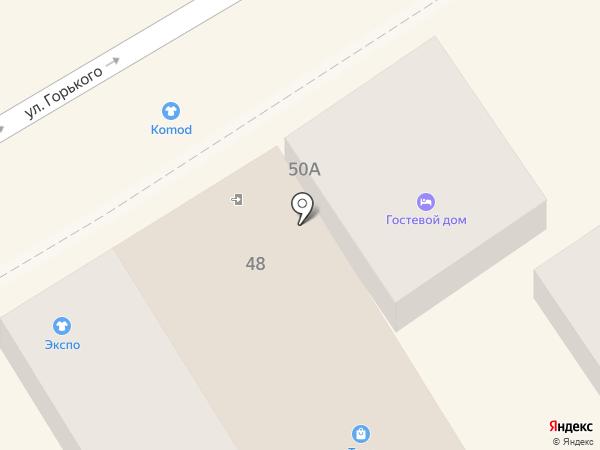 Таня на карте Анапы
