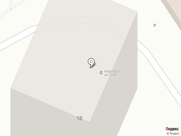 Молодежный на карте Анапы