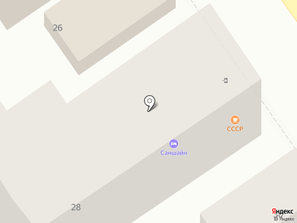 SunShine на карте Анапы