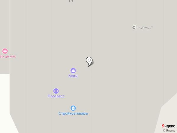 Флёр де лис на карте Красногорска