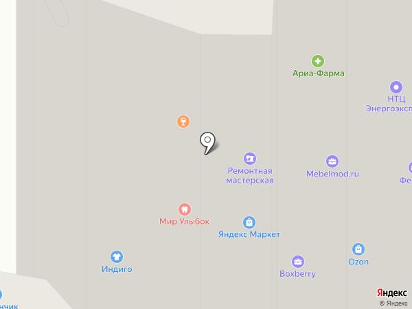 Одуванчик на карте Красногорска