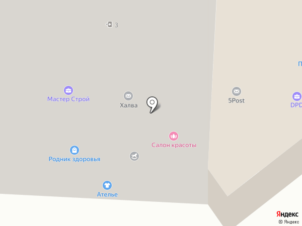 Сэм, ЗАО на карте Красногорска