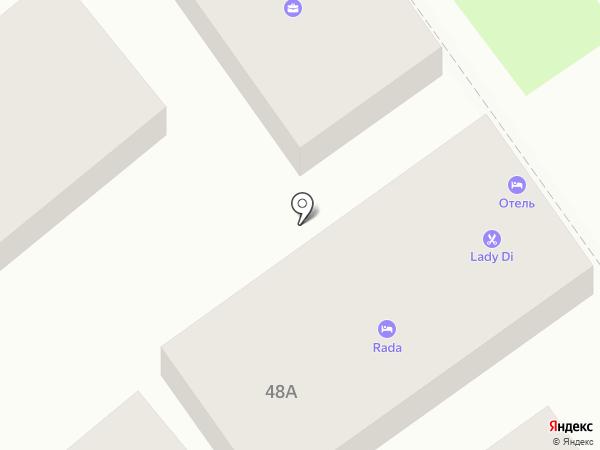 Адвокатский кабинет Семенова В.Н. на карте Анапы