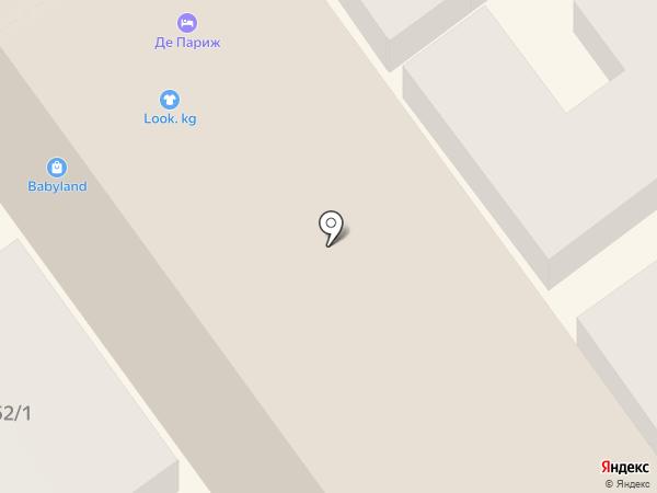 Hotel de Paris на карте Анапы