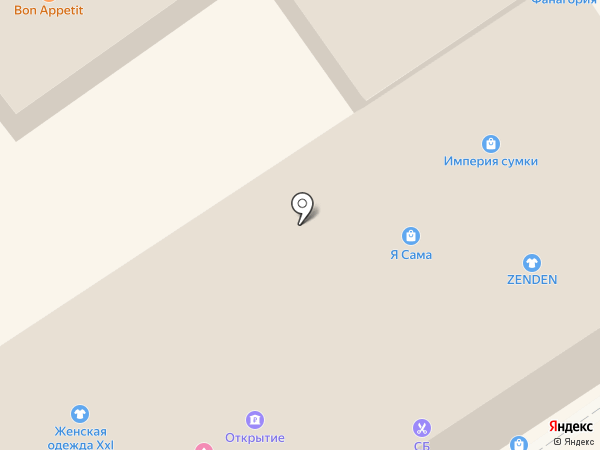 Банкомат, Бинбанк на карте Анапы