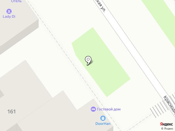 Ниас на карте Анапы