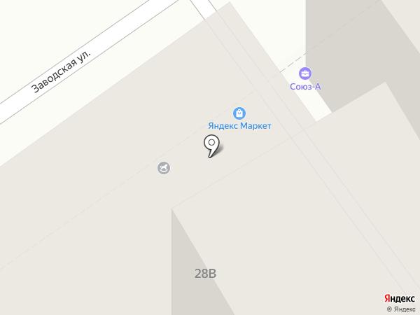 Аэрофит на карте Анапы