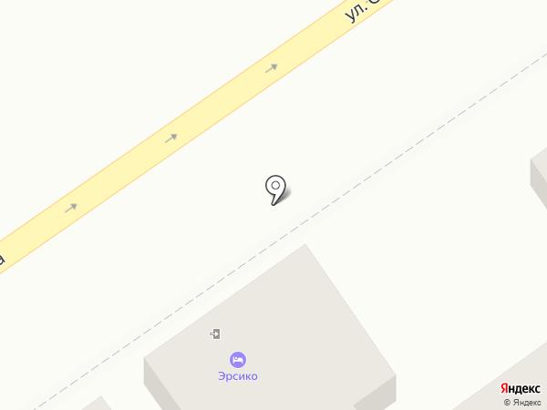 Эрсико на карте Анапы