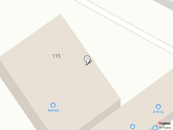 Компания на карте Анапы