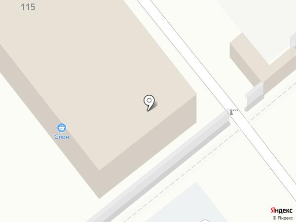 Торгово-монтажная компания на карте Анапы