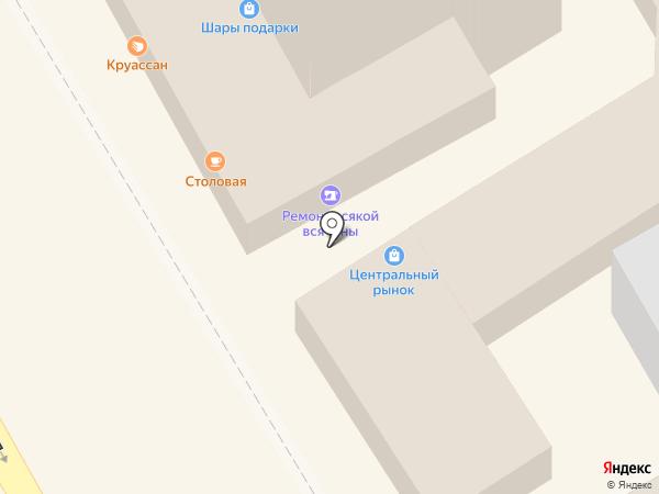 Росзайм на карте Анапы
