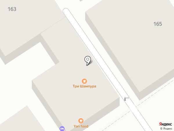 Лагуна на карте Анапы