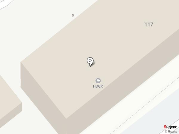 Анапаэлекторосеть на карте Анапы