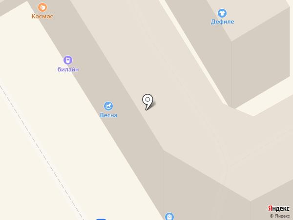 Красотка на карте Анапы