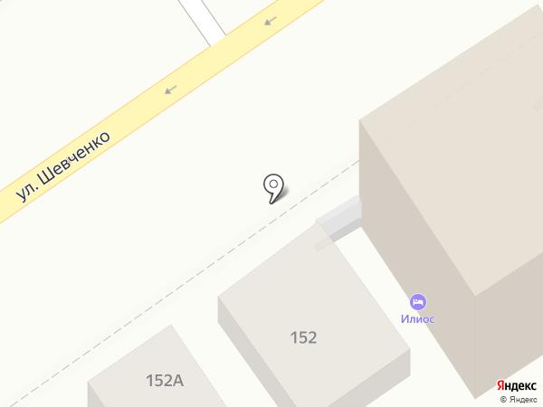 Мистер Хинкали на карте Анапы