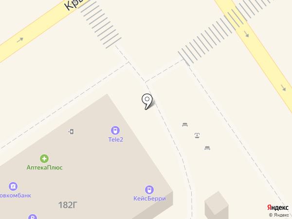 Ермолино на карте Анапы