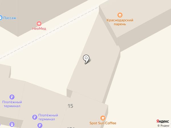 СВЯЗНОЙ на карте Анапы