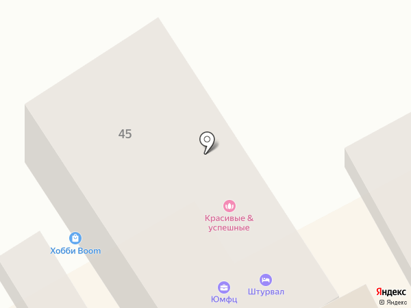 Штурвал на карте Анапы