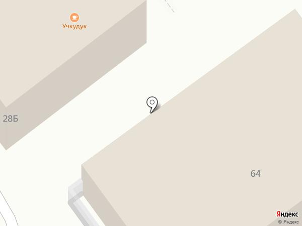Магнит на карте Анапы