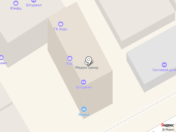 Радио 7 на семи холмах, FM 107.8 на карте Анапы
