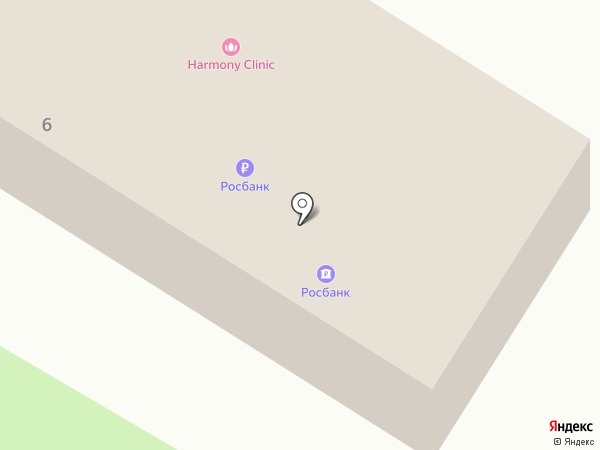 АКБ Росбанк на карте Красногорска