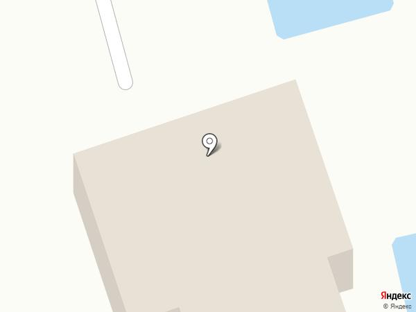Солнечный берег на карте Анапы