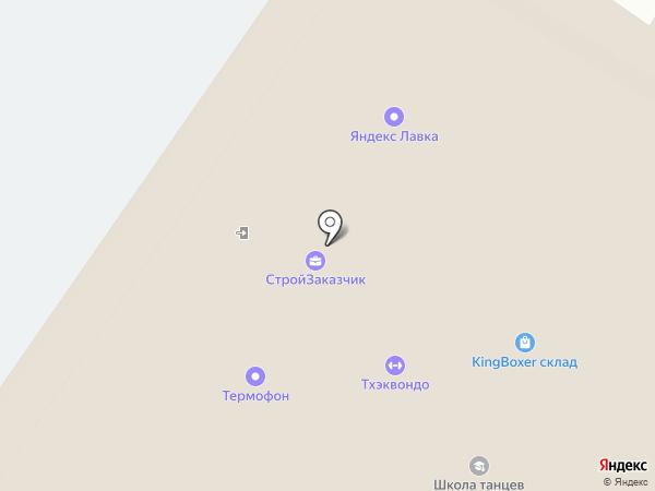 Лайм на карте Красногорска