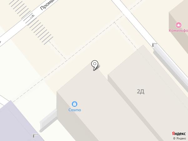 Магазин детской обуви на карте Анапы