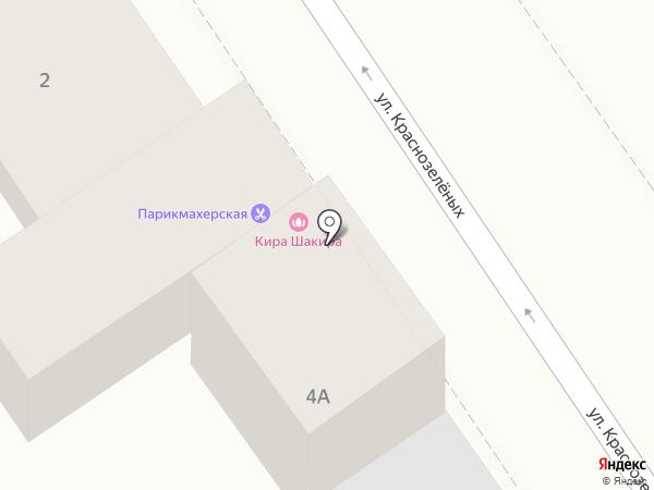 Синдбад на карте Анапы