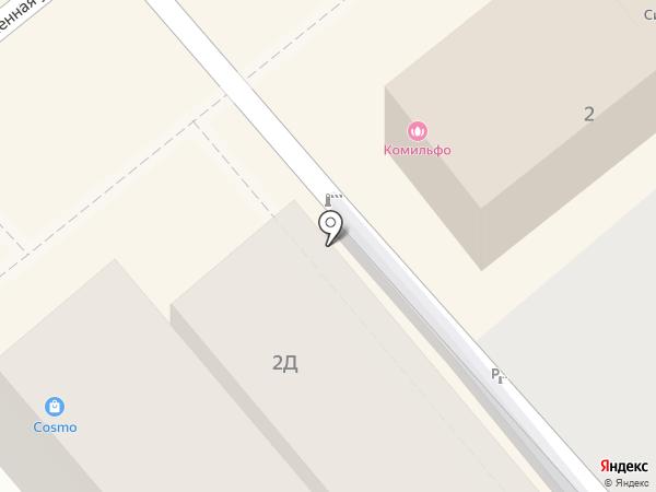 Проспект на карте Анапы