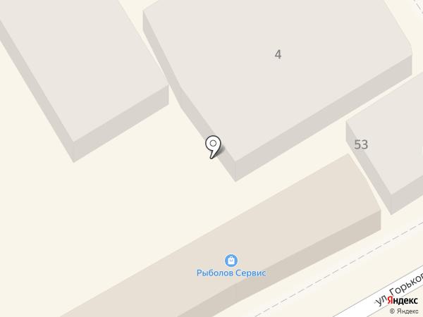 Intertrakt на карте Анапы