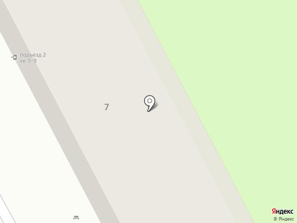 Спарта на карте Красногорска