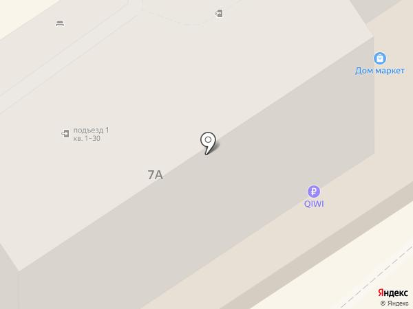 StarMed на карте Анапы