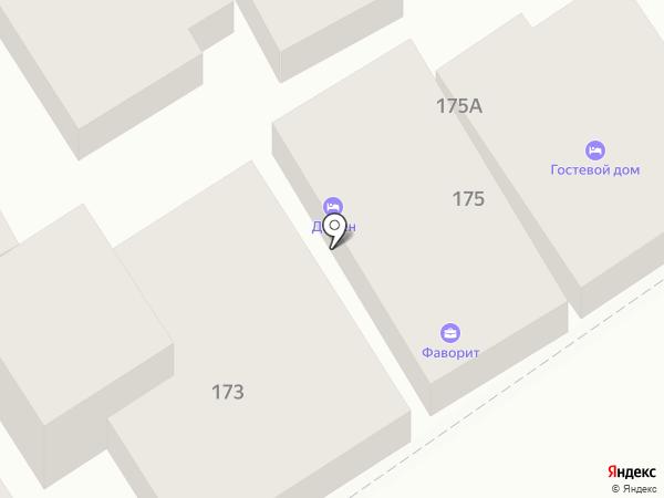 Фаворит на карте Анапы