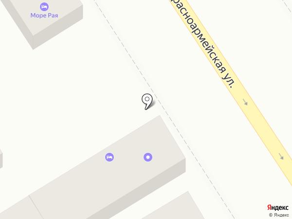 Вест на карте Анапы