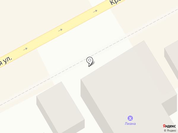 Лиана на карте Анапы