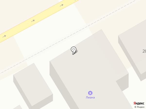 Универсальный на карте Анапы