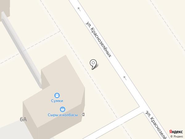 Старый хутор на карте Анапы