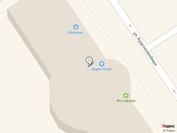 Шарм плюс на карте Анапы