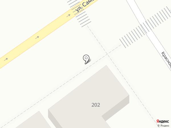 Анжелика на карте Анапы