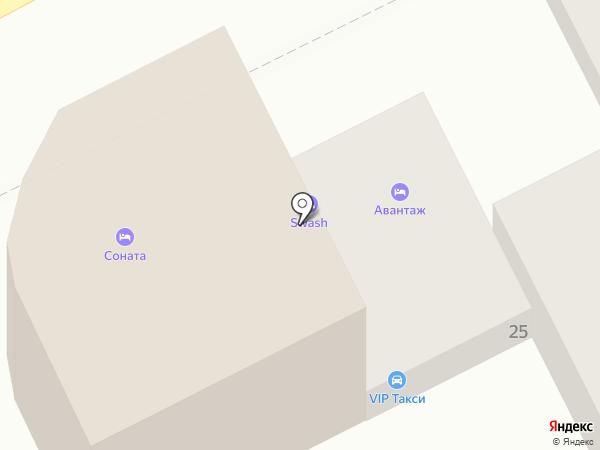 Соната на карте Анапы