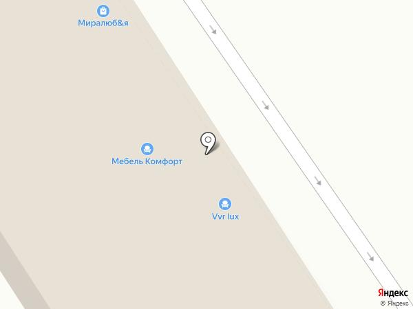 Ангар на карте Анапы