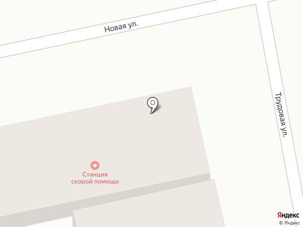 Фельдшерско-акушерский пункт на карте Анапы