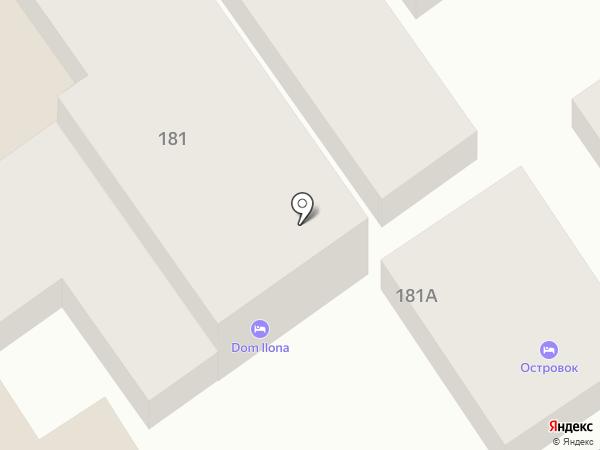 Илона на карте Анапы