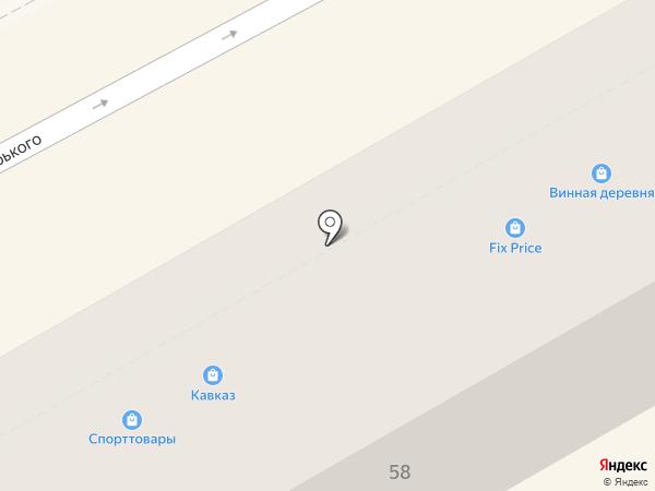 Альмотек на карте Анапы