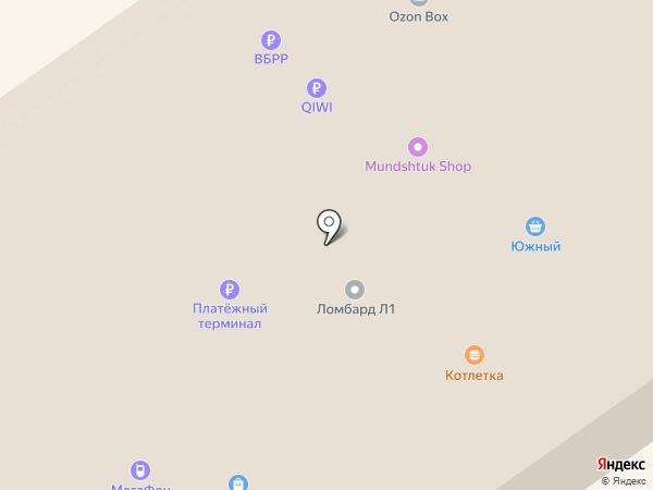 Поиск на карте Анапы