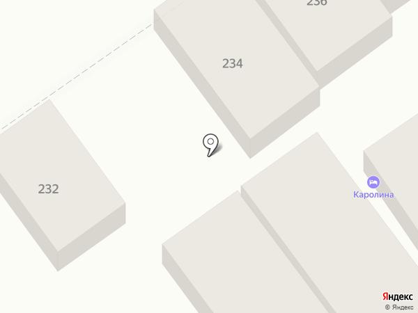 Каролина на карте Анапы